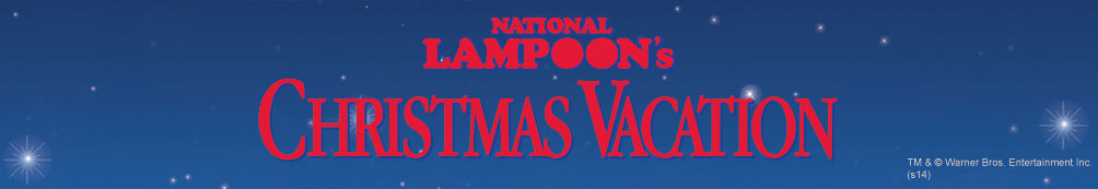 National Lampoon's Christmas Vacation movie logo